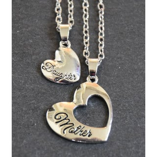 Mint Jules Mother and Daughter Matching Inspirational Pendant Set