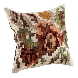 M.A.Trading Hand-woven Karba2 Cream Pillow(2' x 2')
