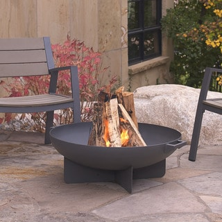 Real Flame Grey Anson Fire Bowl