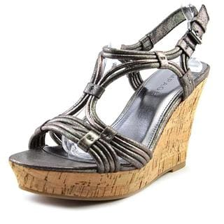 Rampage Women's 'Cammer' Synthetic Sandals