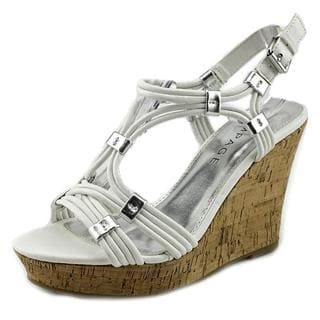 Rampage Women's 'Cammer' Faux Leather Sandals