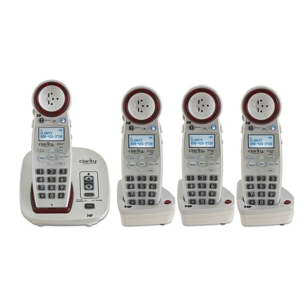 Clarity DECT 6.0 Extra Loud Big Button Speakerphone with Talking Caller ID
