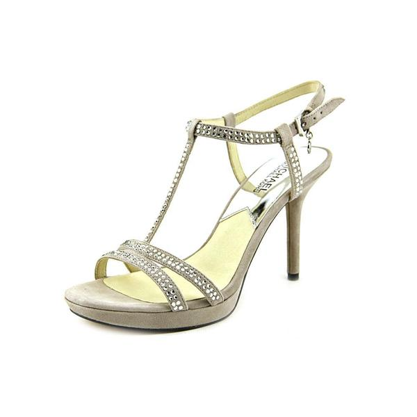 Michael Michael Kors Women's 'Yvonne Platform' Regular Suede Sandals