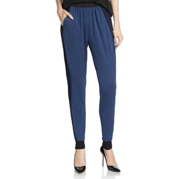 Elie Tahari Women's Blue Track Pants