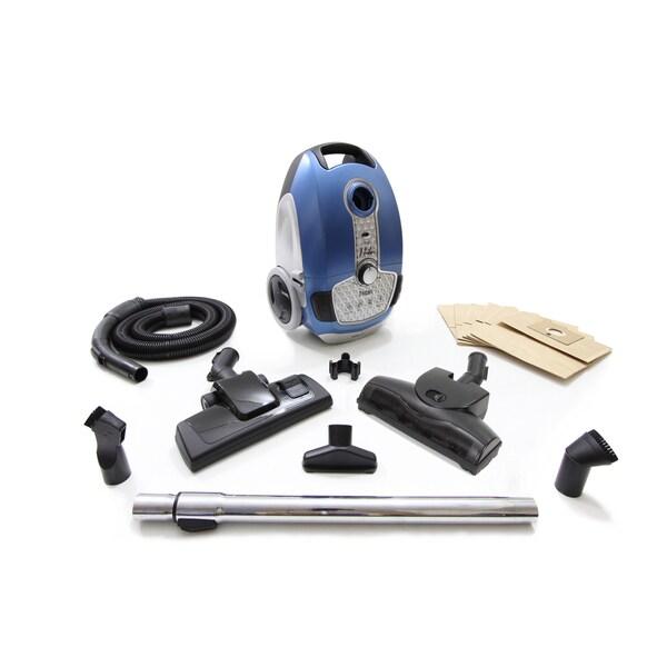 Prolux Tritan Pet Turbo Canister HEPA Sealed Hard Floor Vacuum Cleaner