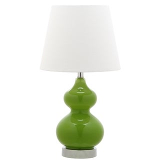 Safavieh Kids Lighting 18.75-inch Eva Green Double Mini Table Lamp