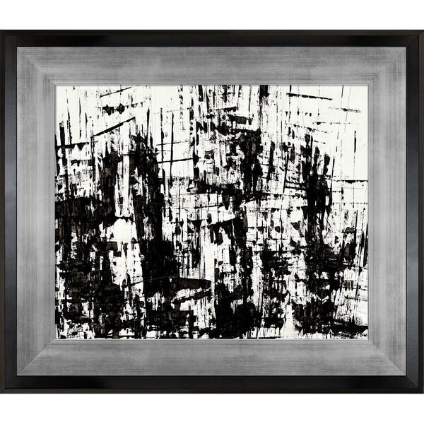 Kris Haas 'Mad Men Custom Commissioned Painting' Framed Fine Art Print