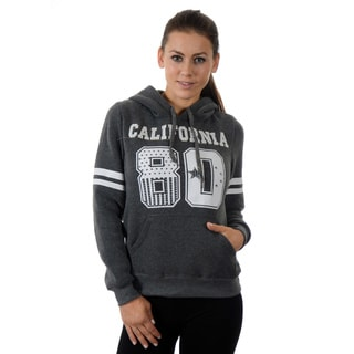 Special One Women's Fleece Double Hood Applique Sweatshirt