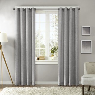Madison Park Harlowe Texture Curtain Panel