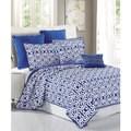 Serenta Montgomery Printed Microfiber 7-piece Bedspread Quilt Set