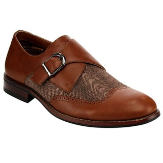 Monk Strap Wingtip Oxfords