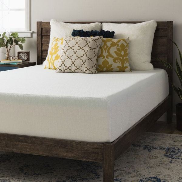Crown Comfort Premium 12-inch Cal King-size Memory Foam Mattress