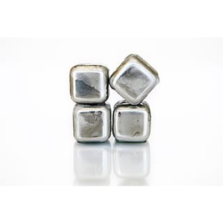 SPARQ Stainless Whiskey Cubes (Set of 4)