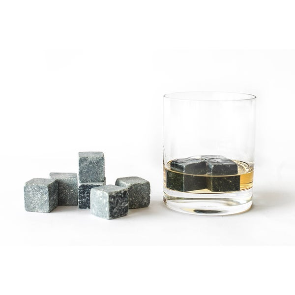 SPARQ Large Whiskey Rocks (Set of 8)