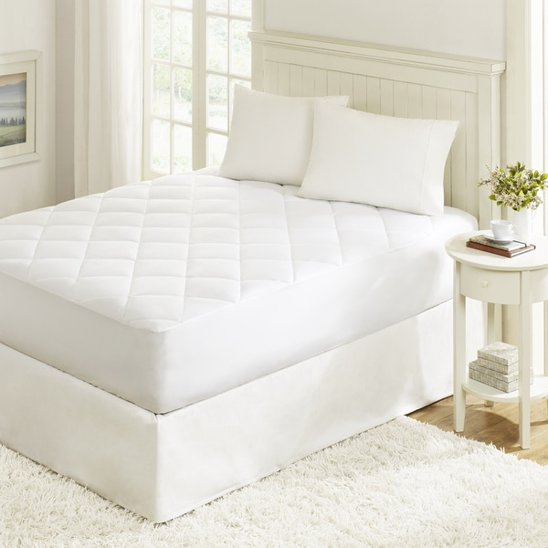 Sleep Philosophy Fit Nest Cotton Mattress Pad