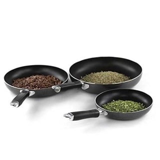 Professional Quality 3-piece Nonstick Aluminum Frying Pan Set