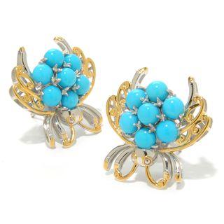 Michael Valitutti Sleeping Beauty Turquoise Critter Earrings