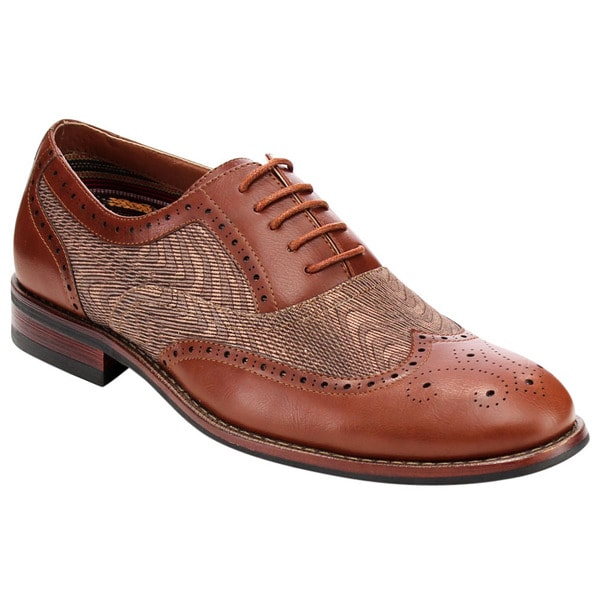 Lace Up Brogue Dress Oxfords