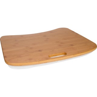 Trademark Innovations Bamboo Lap Desk with Removable Cushion