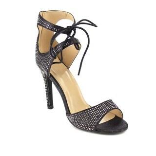 Beston GB43 Women's Lace Up Heels