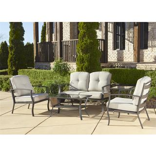 Cosco Serene Ridge 5-piece Aluminum Patio Conversation Set with Coffee Table