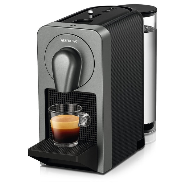Nespresso Prodigio C70 Espresso Machine (Titan) with Smartphone App Connectivity
