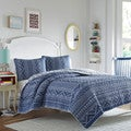 Poppy and Fritz Pippa Indigo Quilt Set
