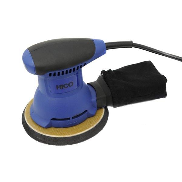 HICO HET-205 2.0-Amp 6 Inch Random Orbital Palm Sander with Cloth Dust Bag