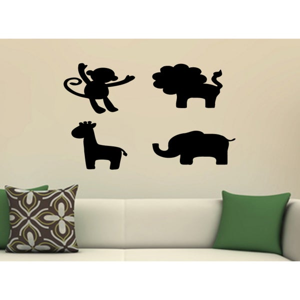 Silhouette of Beasts Wall Art Sticker Decal