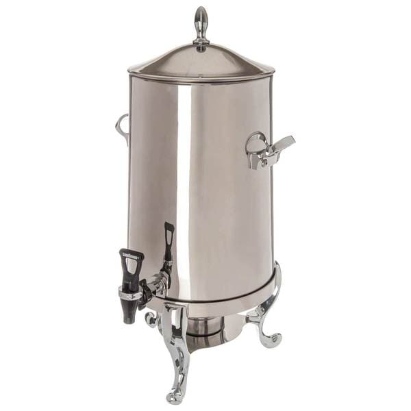 Elegance 100 cup coffee urn, stainless steel