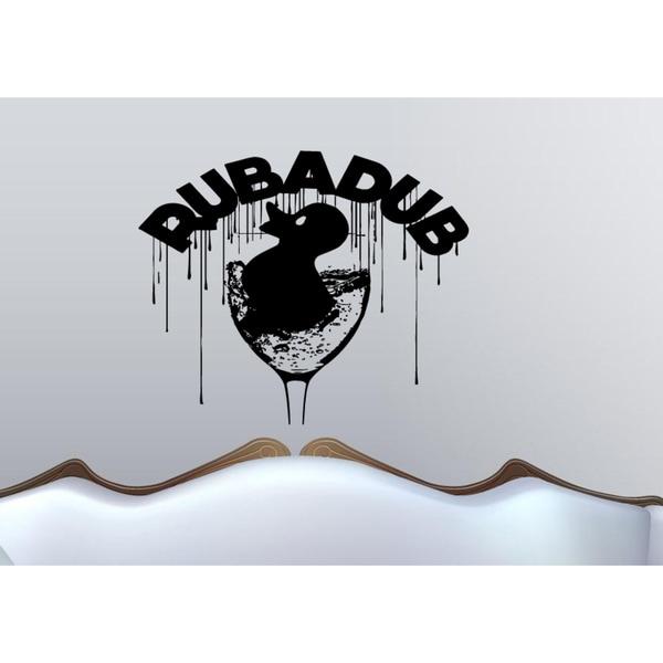 Rub A Dub Wall Art Sticker Decal