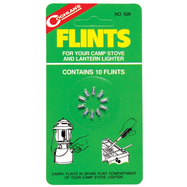 Coghlans 526 Lighter Flints 10-count