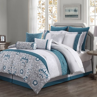 Chloe 10-piece Reversible Comforter Set