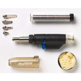 Magna Industries MT 775 C 3-In-1 Micro Butane Torch 7 Piece Kit