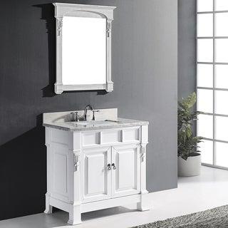Virtu USA Huntshire 36-inch Single Bathroom Vanity Set with Faucet