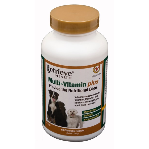 Retrieve Adult Multi-Vitamin Plus - 60 Tablets