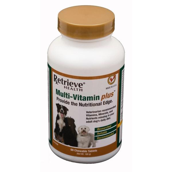Retrieve Adult Multi-Vitamin Plus - 60 Tablets
