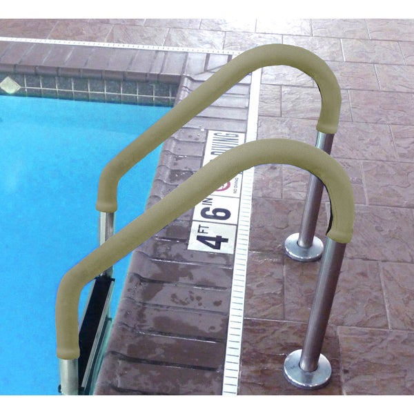 Grip for Pool Handrails - Tan