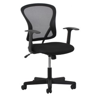 OFM Essentials Black Office chair with Sculpted Arms