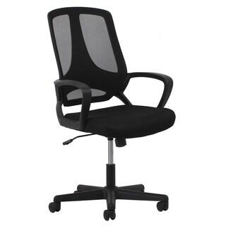 OFM Essentials Adjustable Black Task Chair