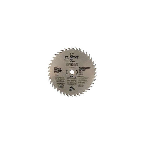 "Vermont American 26492 7-1/4"" Cut Off Circular Saw Blade"