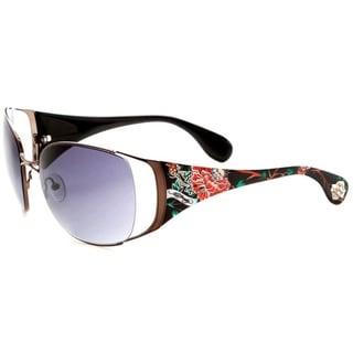 Ed Hardy Mum Lola Black Sunglasses