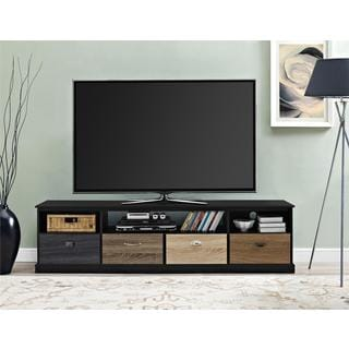 Altra Blackburn 65-inch TV Console with Multicolored Drawer Fronts