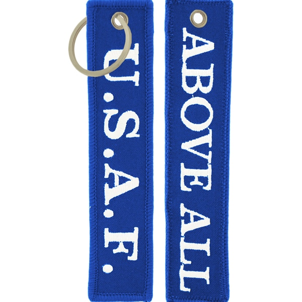USAF Above All Keychain/ Luggage Tag