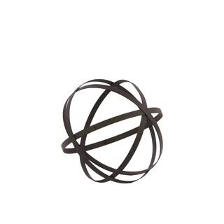 Grey Metal Orb Dyson Sphere Design