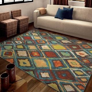 Carolina Weavers Bright Color Floral Dharan Area Rug 7 10