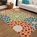 Carolina Weavers Indoor/Outdoor Geo Sprinkled Multi Area Rug  (7'8