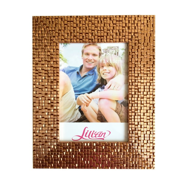 Lilian PC modern Gold desktop photo frames