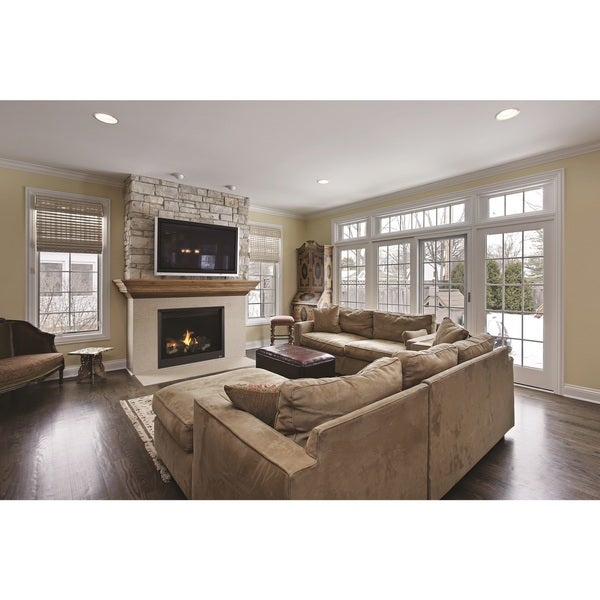 40-inch Superior Direct Vent Fireplace Rear Vent