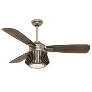 Casablanca Fan Glen Arbor 56-inch Metallic Birch with 3 Weathered Grey Blades 17994409